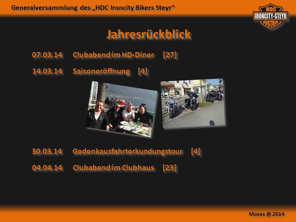 Jahresrückblick 07.03.14 Clubabend im HD-Diner [27]